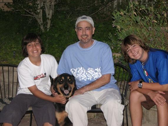 Matt and boys 62007
